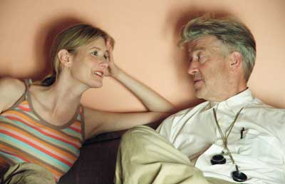 Laura Dern and David Lynch