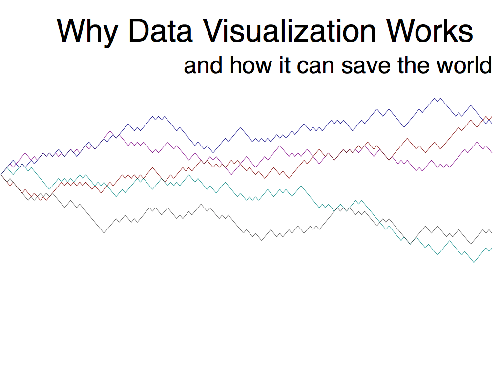 Why data visualization works and how it can save the world